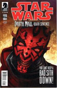 Star Wars Darth Maul Death Sentence #1 $9